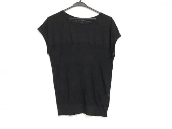 theory(セオリー) 半袖セーター サイズS レディース美品  黒