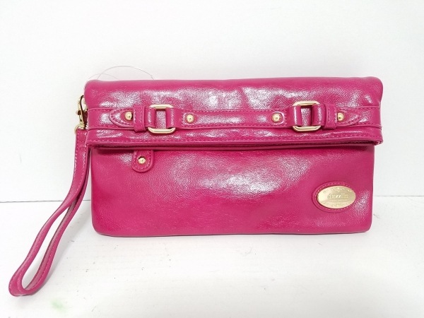 DAZZLIN(ダズリン) クラッチバッグ美品  ピンク 合皮