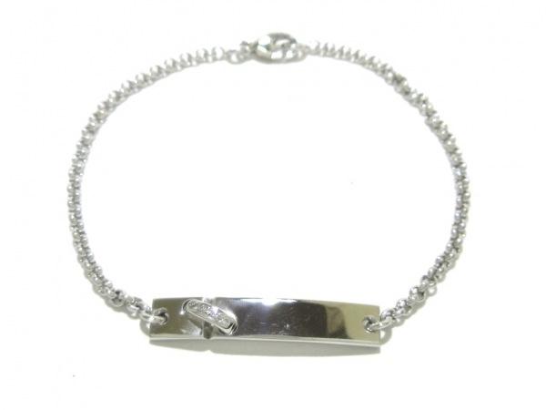 CHAUMET(ショーメ) ブレスレット美品  リアン K18WG×ダイヤモンド 4Pダイヤ