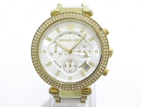 MICHAEL KORS(マイケルコース) 腕時計 パーカー MK-6119 レディース シルバー