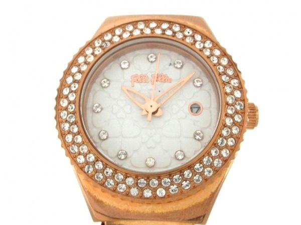 FolliFollie(フォリフォリ) 腕時計 ハートフォーハート WF13B065BT レディース 白
