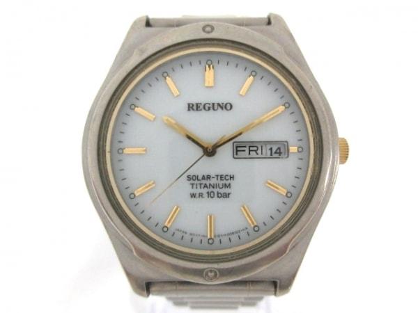 REGUNO(レグノ) 腕時計 - E101-K005302 メンズ 白