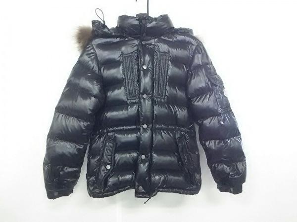 MONCLER(モンクレール) ダウンジャケット サイズ0 XS メンズ - 黒 冬物