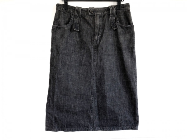 Y's(ワイズ) スカート サイズ3 L レディース美品  黒 デニム