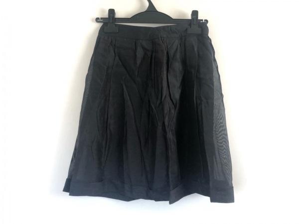 BURBERRY PRORSUM(バーバリープローサム) スカート サイズ38 M レディース美品  黒