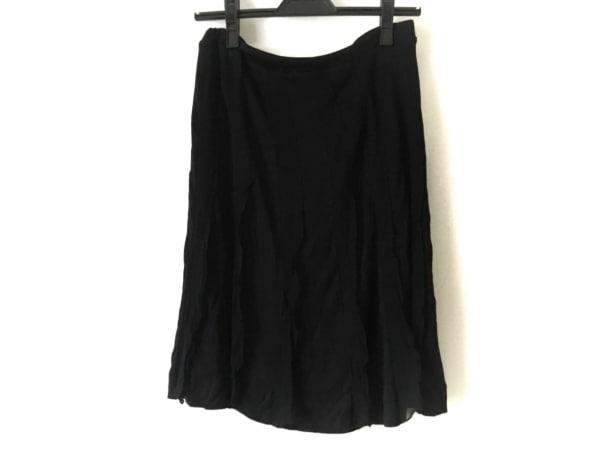DAMAcollection(ダーマコレクション) スカート レディース 黒 プリーツ