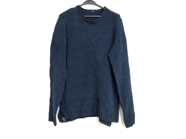 DENHAM(デンハム) 長袖セーター サイズS メンズ美品  ネイビー