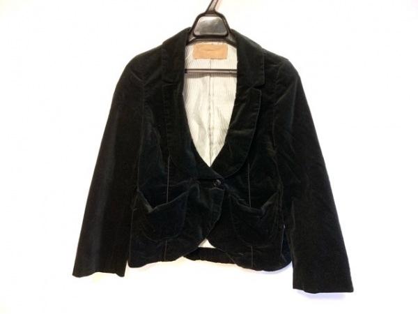 UNSQUEAKY(アンスクウィーキー) ジャケット サイズ2 M レディース 黒 ベロア