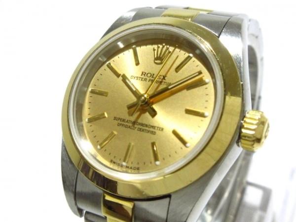 ROLEX(ロレックス) 腕時計 オイスターパーペチュアル 76183 レディース ゴールド