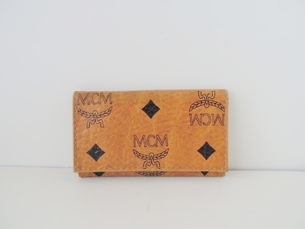 MCM(エムシーエム) キーケース ブラウン 4連フック 合皮