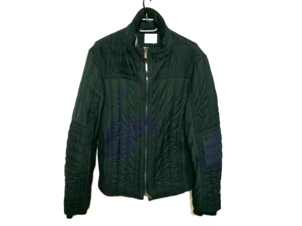 アルマーニコレッツォーニ ダウンジャケット サイズ46 S メンズ 黒 冬物