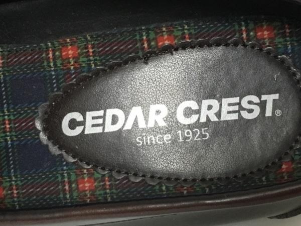 CEDARCREST(セダークレスト) パンプス 24.5 レディース ダークブラウン 合皮