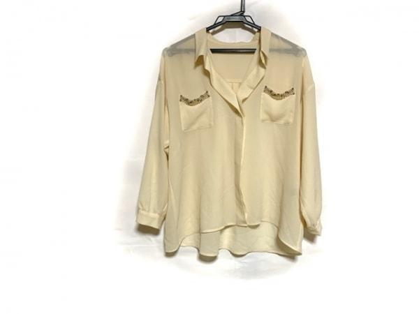 JUSGLITTY(ジャスグリッティー) 長袖シャツ サイズ2 M メンズ美品  ベージュ