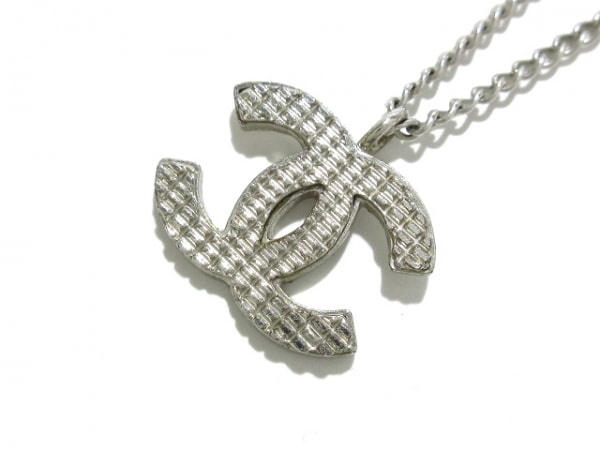 CHANEL(シャネル) ネックレス 金属素材 シルバー ココマーク