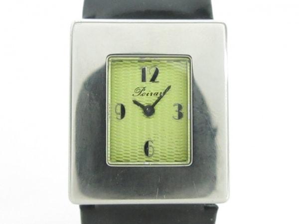 poiray(ポアレ) 腕時計美品  - レディース 社外ベルト ライトグリーン