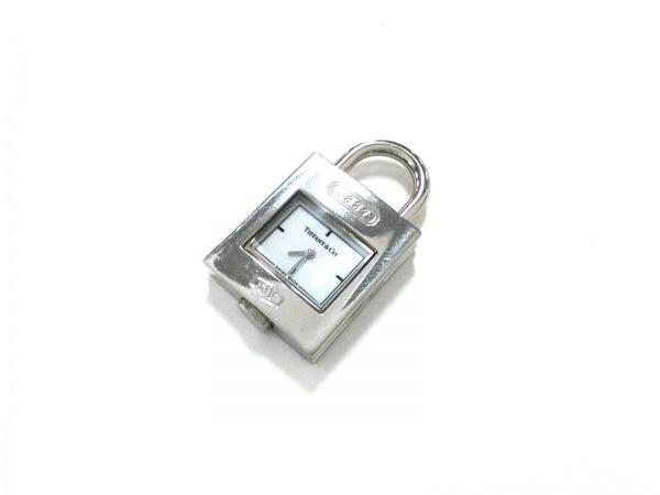 ティファニー ペンダントトップ美品  1837 ステンレススチール シルバー×白