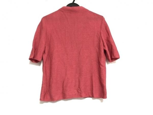 Leilian(レリアン) 半袖セーター サイズ11 M レディース美品  レッド