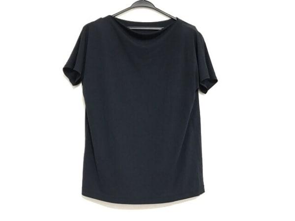 Leilian(レリアン) 半袖カットソー サイズ9 M レディース美品  ネイビー