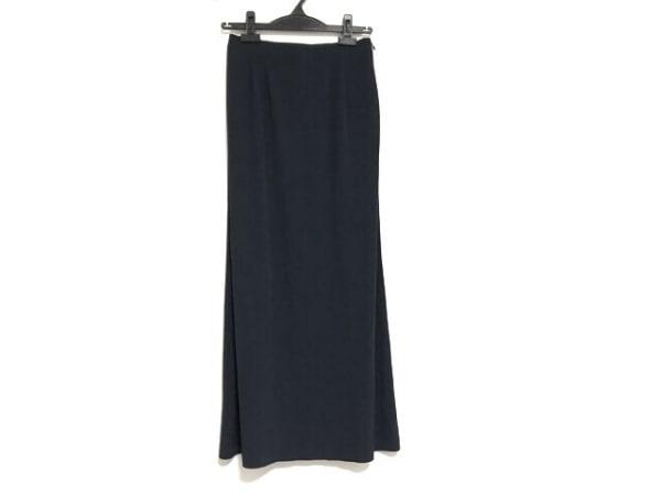 Leilian(レリアン) ロングスカート サイズ9 M レディース美品  ネイビー