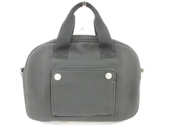 PaulSmith(ポールスミス) ハンドバッグ新品同様  黒 ナイロン