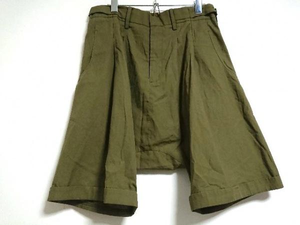 yohjiyamamoto(ヨウジヤマモト) パンツ サイズ2 M レディース カーキ サルエル