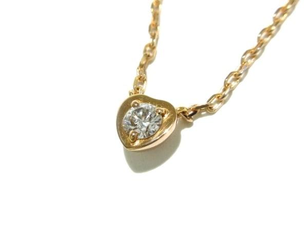 カルティエ ネックレス美品  ディアマンレジェドゥ B7059400 K18PG×ダイヤモンド