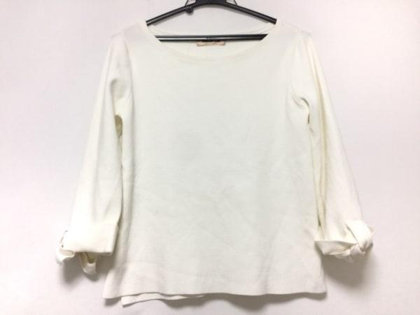 Apuweiser-riche(アプワイザーリッシェ) 長袖セーター サイズ2 M レディース 白