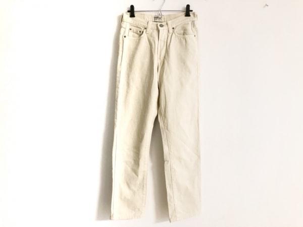 ヴェルサーチジーンズ パンツ サイズ29 XL レディース アイボリー