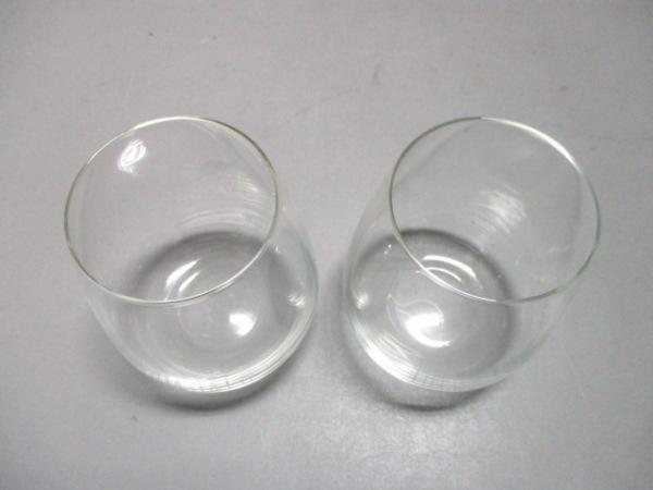 TIFFANY&Co.(ティファニー) ペアグラス新品同様  タンブラー クリア ガラス
