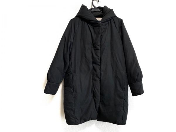 Rouge vif(ルージュヴィフ) ダウンコート サイズ36 S レディース 黒 フード付き/冬物