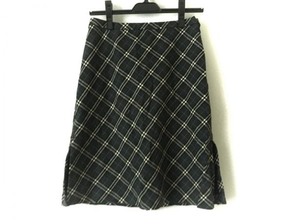 バーバリーブルーレーベル スカート サイズ36 S レディース チェック柄