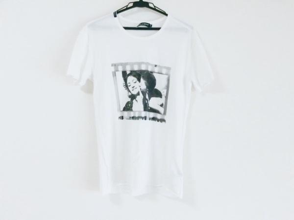 ドルチェアンドガッバーナ 半袖Tシャツ サイズ44 L レディース美品  白