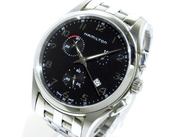 HAMILTON(ハミルトン) 腕時計 ジャズマスター H386120 メンズ クロノグラフ 黒