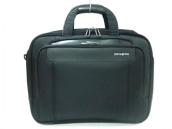 Samsonite(サムソナイト) ビジネスバッグ美品  黒 ナイロン×レザー