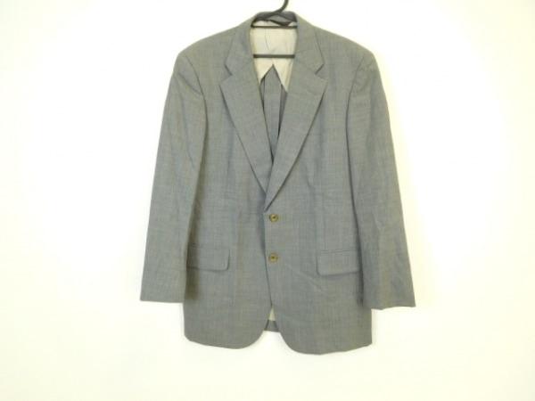 PaulStuart(ポールスチュアート) ジャケット メンズ美品  グレー ネーム刺繍