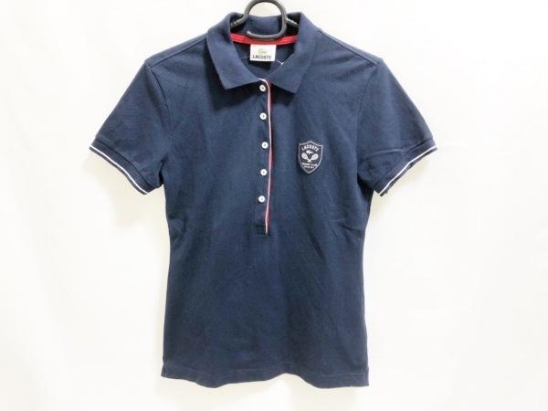 Lacoste(ラコステ) 半袖ポロシャツ レディース ネイビー