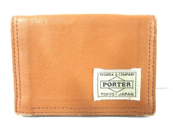 PORTER/吉田(ポーター) パスケース - ライトブラウン コーティングキャンバス