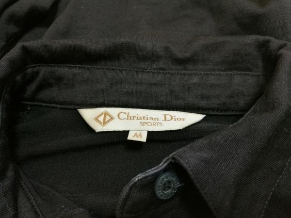 ChristianDiorSports(クリスチャンディオールスポーツ) 長袖ポロシャツ レディース 黒