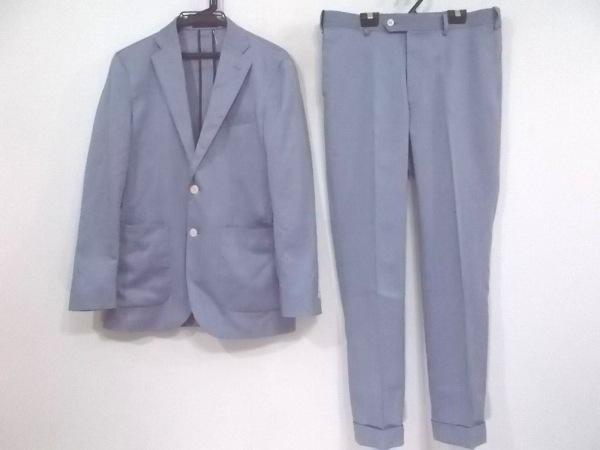VISARUNO(ビサルノ) シングルスーツ メンズ ブルー シングル
