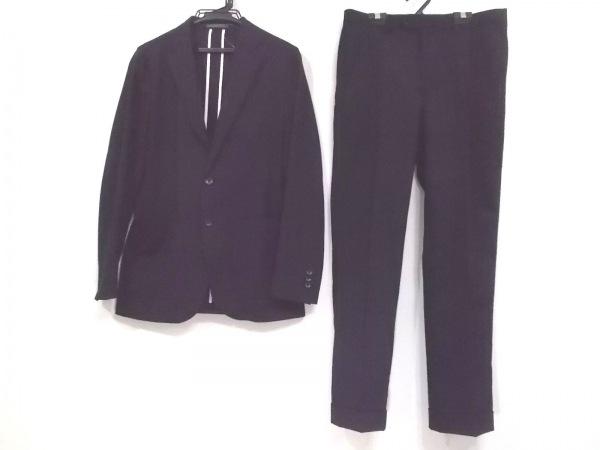 VISARUNO(ビサルノ) シングルスーツ メンズ新品同様  ダークネイビー シングル/薄手