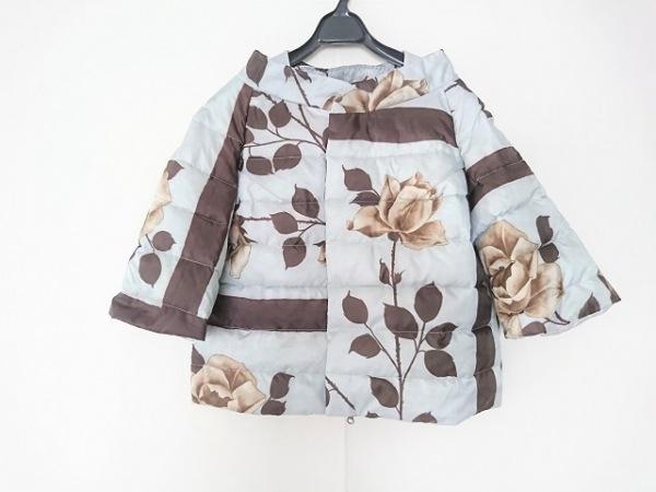 ahcahcum(アチャチュム) ダウンジャケット サイズ36 S レディース 花柄