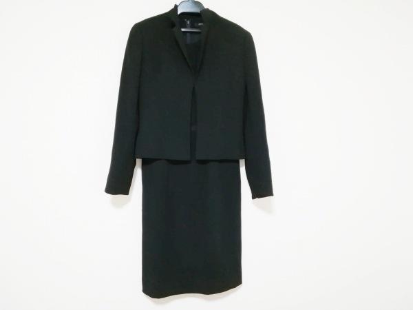 MICHELKLEIN(ミッシェルクラン) ワンピーススーツ サイズ7 S レディース美品  黒