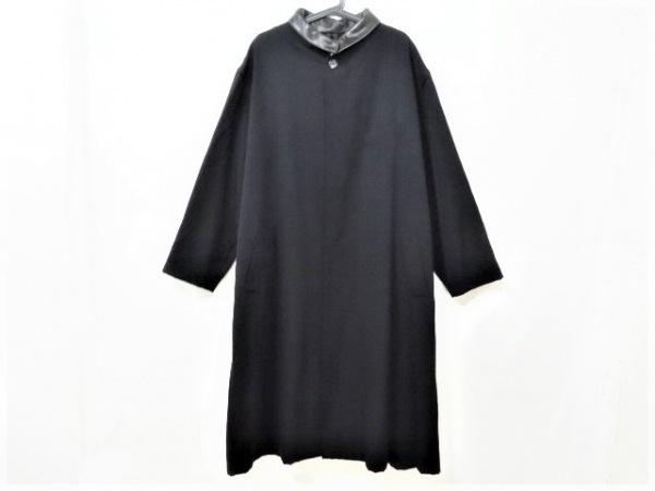 yohjiyamamoto(ヨウジヤマモト) コート サイズM メンズ美品  黒 ロング丈/冬物
