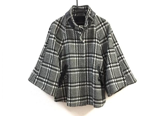 LEJOUR(ルジュール) コート サイズ38 M レディース美品  黒×白 冬物