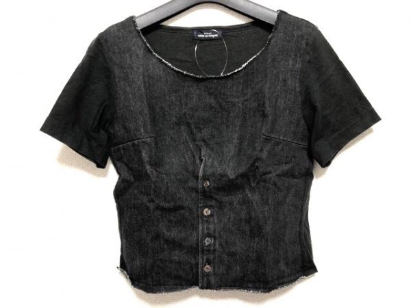 tricot COMMEdesGARCONS(トリココムデギャルソン) 半袖カットソー レディース 黒