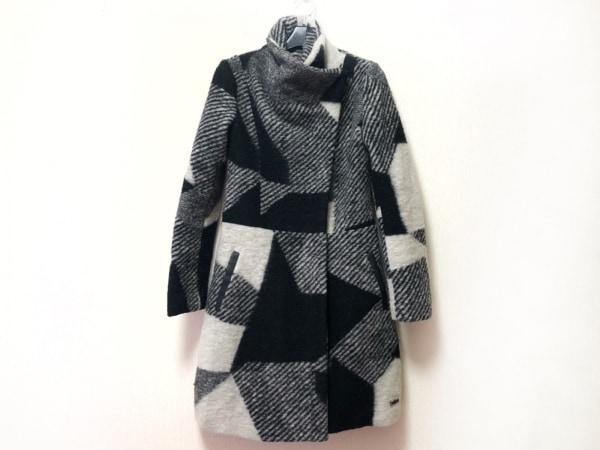 Desigual(デシグアル) コート サイズ36 M レディース 黒×白 冬物