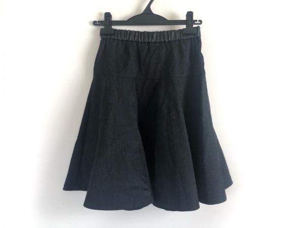 kaon(カオン) スカート サイズ36 S レディース美品  黒×ダークネイビー