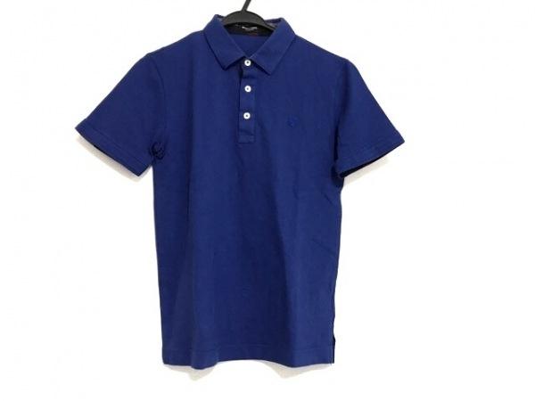 ブラックレーベルクレストブリッジ 半袖ポロシャツ サイズ1 S メンズ ブルー