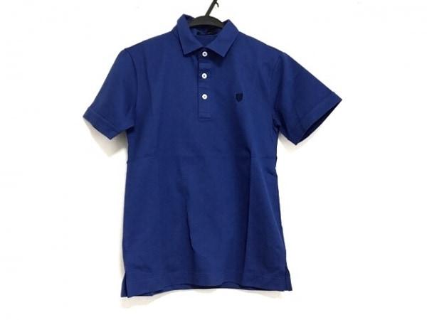 ブラックレーベルクレストブリッジ 半袖ポロシャツ サイズ1 S メンズ美品  ブルー