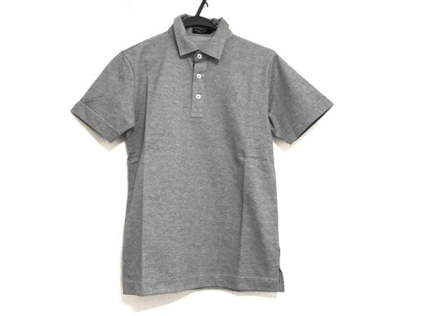 ブラックレーベルクレストブリッジ 半袖ポロシャツ サイズ1 S メンズ美品  グレー